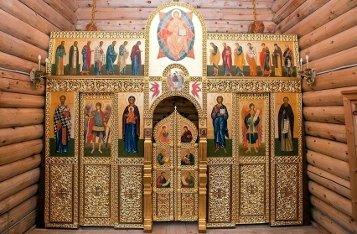 По какому принципу в храме висят иконы?