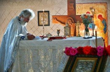 Как священник готовится к Литургии?