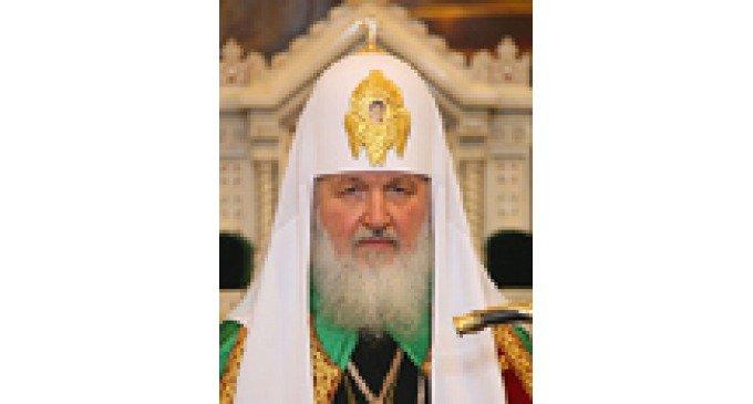 Патриарх Кирилл даст интервью порталу