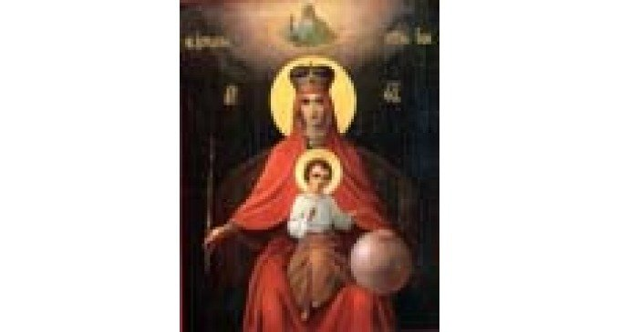 Икона Божией Матери, именуемая Державная