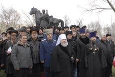 Памятник герою Отечественной войны 1812 года атаману Матвею Платову открыли в Москве